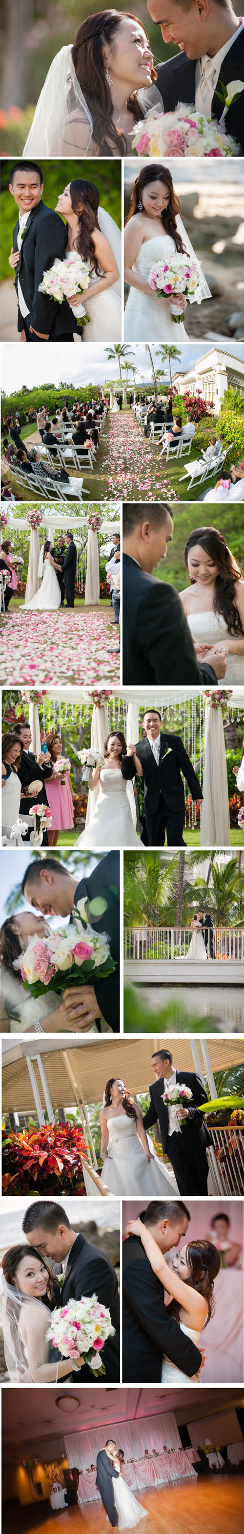 Hawaii Wedding Photographer Kai-Photo - Ihilani Wedding