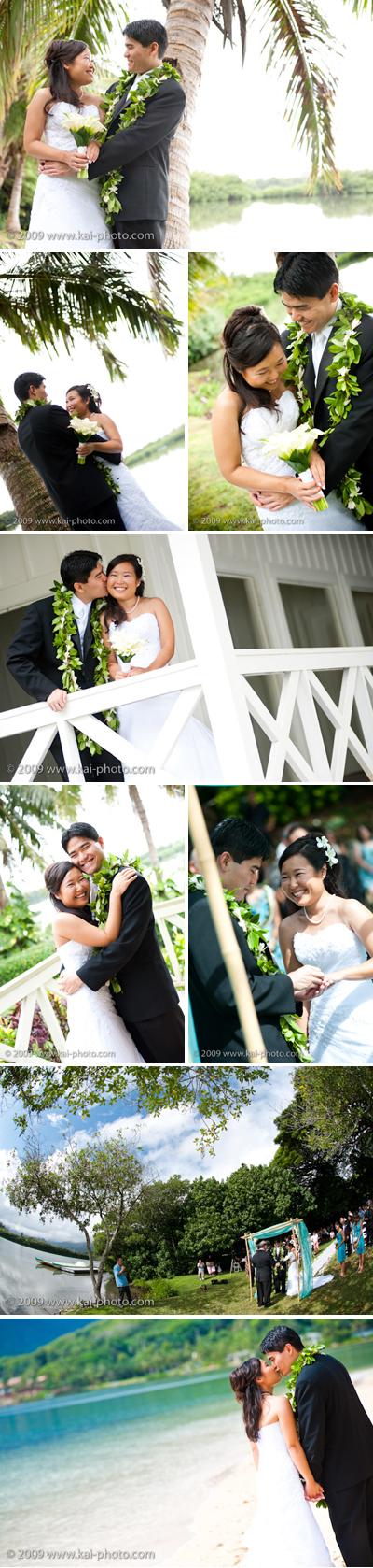 hawaii wedding photography :: Molii Gardens