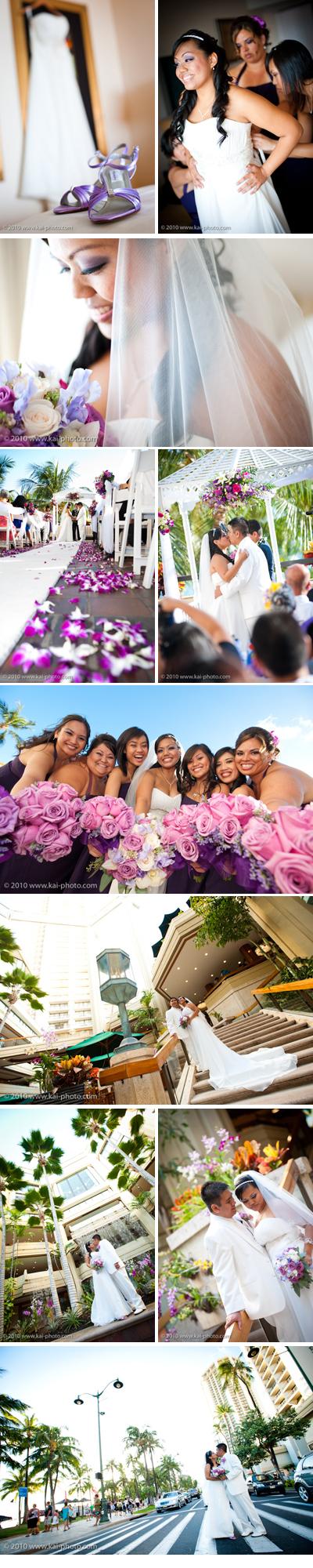 Hawaii Wedding Photography at Hyatt